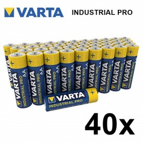 Varta - Varta Industrial PRO LR6/AA alkaline - Size AA - BS370-CB www.NedRo.us