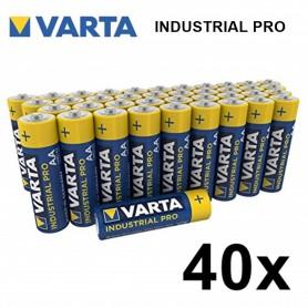 Varta, Varta Industrial PRO LR6/AA alkaline, Size AA, BS370-CB, EtronixCenter.com