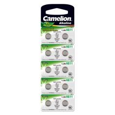 Camelion G11/AG11/L721/SR720/SR58/362/532 1.5V button cell battery