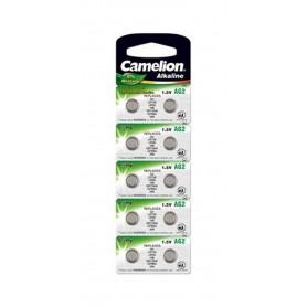 Camelion - Camelion AG2 L726 SR726 SR59 396 556 29 RW411 G2 1.5V Alkaline - Button cells - BS399-CB www.NedRo.us