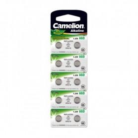 Camelion, Camelion L521, AG0, 384, SR521W, G0 1.5V Alkaline, Button cells, BS400-CB, EtronixCenter.com