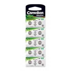 Camelion, Camelion LR48, AG5, LR754, 193, G5, GP93A, 393, SR754W 1.5V Alkaline, Button cells, BS401-CB, EtronixCenter.com