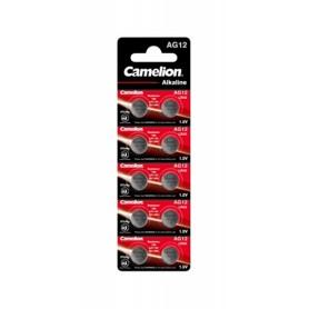 Camelion - Camelion 186A, LR43, AG12, D186, L1142, V12GA 1.5v Alkaline button cell battery - Button cells - BS403-CB www.NedR...