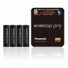 Panasonic eneloop PRO Sliding  AA R6 2550mAh 1.2V Rechargeable Battery