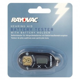 Rayovac - Rayovac Hearing Aid Watch Button Cell Batteries Tester - Battery accessories - BL261 www.NedRo.us