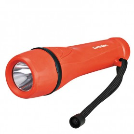 Camelion - Camelion rubber flashlight including 2x AA batteries - Flashlights - BS404-CB