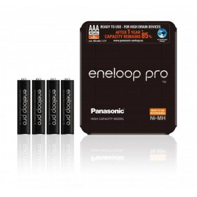Eneloop - AAA Rechargeable Panasonic eneloop PRO Sliding Box Battery - Size AAA - NK438-CB
