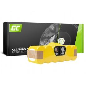 Green Cell - Battery for iRobot Roomba 500 600 700 800 series 14.4V 3000mAh Ni-MH - Electronics batteries - GC070