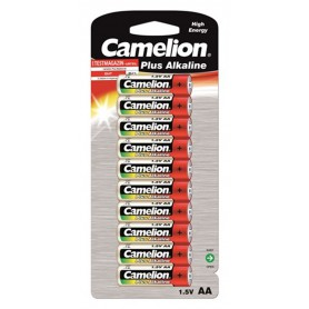 Camelion - 10-Pack Camelion Plus LR6 / AA / R6 / MN 1500 1.5V Alkaline battery - Size AA - BS407-CB