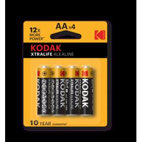 Kodak - Kodak XTRALIFE LR6 / AA / R6 / MN 1500 1.5V Alkaline battery - Size AA - BS411-CB