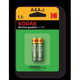 Kodak, Kodak 1000mAh AAA Rechargeable Battery 1.2V NiMH, Size AAA, BS415-CB, EtronixCenter.com