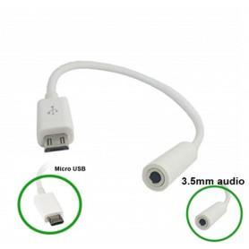 NedRo - Micro USB Male to Audio 3.5mm Female cable adapter - Audio adapters - AL610 www.NedRo.us