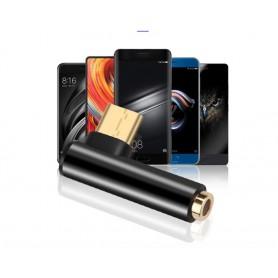Kebidu - USB-C (USB Type C) Male to 4 pole Audio 3.5mm Female adapter - Audio adapters - AL178-CB www.NedRo.us