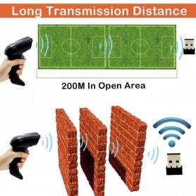 Symcode, Symcode Wireless 1D/2D Barcode Scanner 2.4GHz, Barcode scanner, AL215