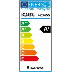 Calex, 6W GU10 Calex Warm White COB LED 240V 430lm 2700K - Dimmable, GU10 LED, CA0995-CB