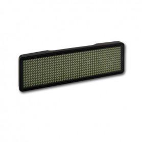 Sertronics, Sertronics LED name tag 9.3x3cm black edge, LED gadgets, ON6296-CB, EtronixCenter.com