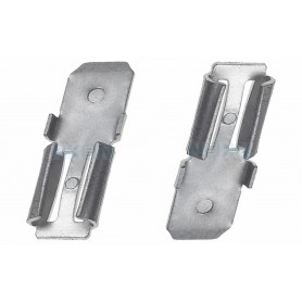 NedRo - 2x Clamp adapter Terminal for lead battery - from 4.74mm to 6.35mm (F1 to F2) - Battery accessories - NK439