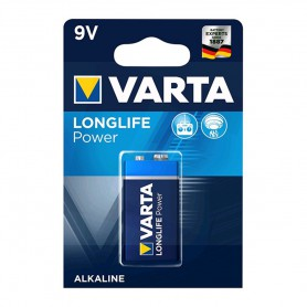 Varta, Varta Longlife Power 9V / E-Block / 6LP3146 Alkaline battery, Other formats, BS259-CB, EtronixCenter.com
