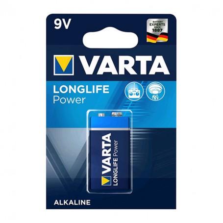 Varta - Varta Longlife Power 9V / E-Block / 6LP3146 Alkaline battery - Other formats - BS259-CB