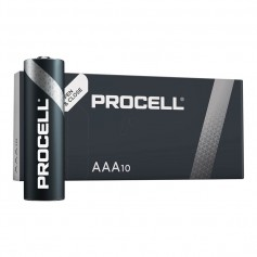 Duracell - PROCELL AAA LR03 (Duracell Industrial) alkaline battery - Size AAA - NK443-CB
