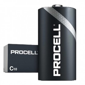 Duracell, PROCELL (Duracell Industrial) C/LR14 Alkaline, Size C D 4.5V XL, NK446-CB