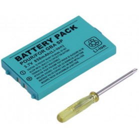 Dolphix - Battery for Nintendo GBA SP (Game Boy Advance SP) BT-GH188 750mAh - Nintendo GBA SP - YGN400 www.NedRo.us
