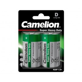 Camelion, Camelion Super Heavy Duty R20,D 8025mAh 1.5V Alkaline, Size C D 4.5V XL, BS425-CB