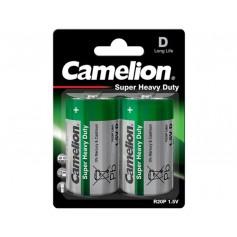 Camelion - Camelion Super Heavy Duty R20,D 8025mAh 1.5V Alkaline - Size C D 4.5V XL - BS425-CB