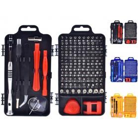 Oem - 110 in 1 Screwdriver Multi Set Computer Phone Repair Hand Tools - Screwdrivers - AL573-CB