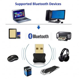 NedRo, Bluetooth V4.0 USB Dongle Adapter, Wireless, AL246-CB