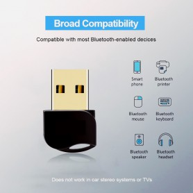 NedRo, Bluetooth V4.0 USB Dongle Adapter, Wireless, AL1084