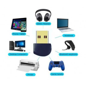 NedRo, Bluetooth V4.0 USB Dongle Adapter, Wireless, AL1086