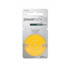 Varta - PowerOne by Varta P10 1.2V 30 mAh Ni-MH Hearing Aid Battery - Hearing batteries - BS431-CB