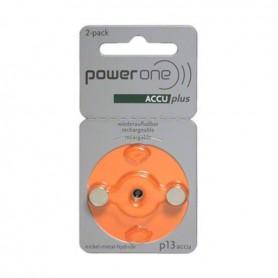 Varta - PowerOne by Varta P13/PR48 1.2V 30 mAh Ni-MH Hearing Aid Battery - Hearing batteries - BS432-CB www.NedRo.us