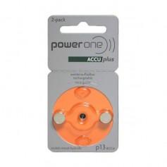 Varta - PowerOne by Varta P13/PR48 1.2V 30 mAh Ni-MH Hearing Aid Battery - Hearing batteries - BS432-CB