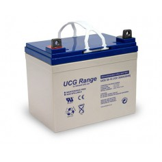 Ultracell - Ultracell DCGA/Deep Cycle Gel UCG 12V 35000mAh Rechargeable Lead Acid Battery - Battery Lead-acid  - BS440