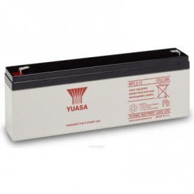 Yuasa - Yuasa NP2.3-12 Rechargeable Lead Acid Battery 12v / 2.3 Ah - Battery Lead-acid  - BS453
