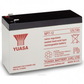 Yuasa, Yuasa NP7-12 Rechargeable Lead Acid Battery 12v / 7 Ah, Battery Lead-acid , BS454