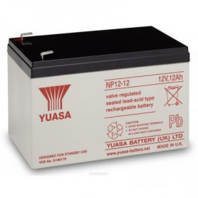 Yuasa - Yuasa NP12-12 Rechargeable Lead Acid Battery 12v / 12 Ah - Battery Lead-acid  - BS455