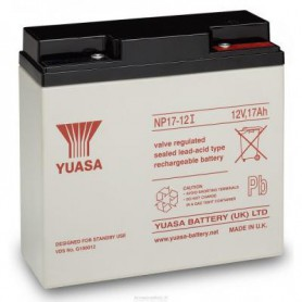 Yuasa - Yuasa NP17-12 Rechargeable Lead Acid Battery 12v / 17 Ah - Battery Lead-acid  - BS456