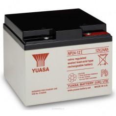 Yuasa - Yuasa NP24-12 Rechargeable Lead Acid Battery 12v / 24 Ah - Battery Lead-acid  - BS457