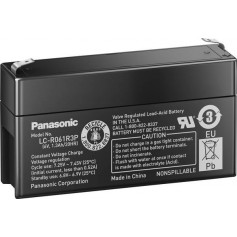 Panasonic 6V LC-R061R3P Rechargeable Lead Battery 1.3 Ah