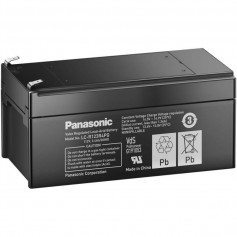 Panasonic - Panasonic 12V 3.4Ah Lead battery LC-R123R4PG - Battery Lead-acid  - NK455