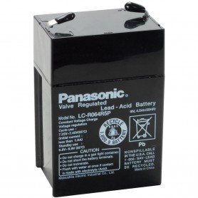 Panasonic, Panasonic LC-R064R5P Rechargeable Lead Acid Battery 6V 4.5Ah, Battery Lead-acid , NK457