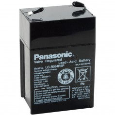 Panasonic LC-R064R5P Rechargeable Lead Acid Battery 6V 4.5Ah