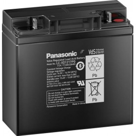 Panasonic - Panasonic LC-XD1217PG Rechargeable Lead-acid Battery 12V / 17Ah / 20HR - Battery Lead-acid  - NK458