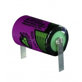 Tadiran, Battery Lithium Tadiran SL-750 / 1/2 AA 3.6V 1100mAh with U-solder lip, Other formats, NK464