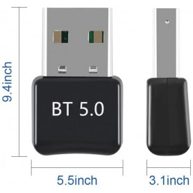 NedRo - Bluetooth 5.0 USB Dongle Adapter V5.0 - Wireless - AL1093