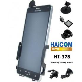Haicom - Haicom phone holder for Samsung Galaxy Note 4 HI-378 - Bicycle phone holder - FI-378-CB