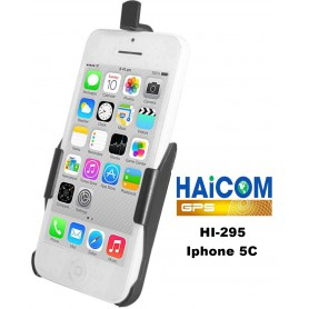 Haicom - Haicom phone holder for Apple Iphone 5C HI-295 - Bicycle phone holder - FI-295-CB
